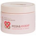 Concept Spa Power Tonus Hair Mask - Маска для волос укрепление и тонус, Роза и инжир, 350 мл