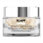 Фото Klapp Beauty Capsules Protecting Serum + Vitamin E - Капсулы для лица, 30 шт