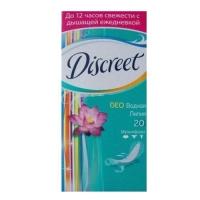 Discreet Deo - Прокладки Водная лилия, 20 шт