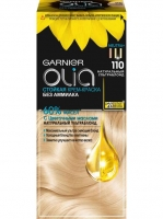 Garnier Olia - Стойкая крем-краска для волос 110 Натуральн ультраблонд, 112 мл
