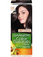 Garnier Color naturals - Краска для волос 3.12 Ледяной темный шатен, 60 мл