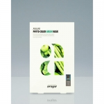 Фото Avajar Phyto-Color Green Mask - Успокаивающая и увлажняющая маска, 10 шт