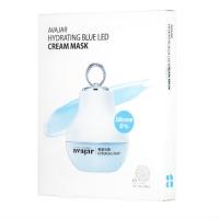 Avajar Hydrating Blue Led Cream Mask - Увлажняющая кремовая LED маска, 5 шт