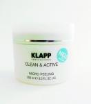 Фото Klapp Clean&Active Micro Peeling - Микропилинг, 250мл