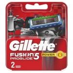 Фото Gillette Fusion Proglide - Сменные кассеты для бритья, 2 шт