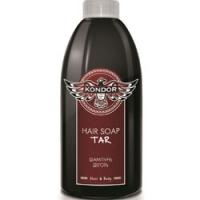 Купить Kondor Hair and Body Hair Soap Tar - Шампунь для мужчин себорегулирующий шампунь с экстрактом хмеля, 300 мл