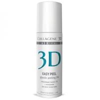 Medical Collagene 3D Easy Peel - Гель-пилинг для лица с хитозаном на основе гликолевой кислоты 5% pH 3.2, 130 мл