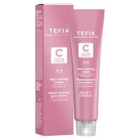 Купить Tefia Color Creats - Крем-краска для волос с маслом монои, 10.2 экстра светлый блондин бежевый, 60 мл