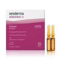 Sesderma Acglicolic 20 Ampoules - Средство в ампулах против морщин AHA 15%, 5 шт по 2 мл
