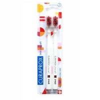 Купить Curaprox - Набор ультрамягких зубных щеток ultrasoft Duo Pop Art, 2 шт