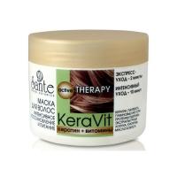 Sante Keravit - Маска для волос интенсивное восстановление и питания, 300 мл фото