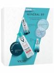 Фото Vichy Набор Mineral 89: Ежедневный гель-сыворотка для лица, 50 мл + Уход для кожи вокруг глаз 15 мл + Мицеллярная вода с минералами 200 мл