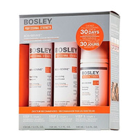 Купить Bosley Воs Revive Starter Pack for Color-Treated Hair - Система для истонченных окрашенных волос, 150 мл+150 мл+ 100 мл