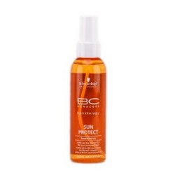 Schwarzkopf Bonacure Sun Protect Shimmer Oil - Масло-спрей с мерцающим блеском, 150 мл
