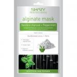 Фото Shary Professional Alginate Mask - Маска моделирующая альгинатная, Бамбуковый уголь и мята, 28 г