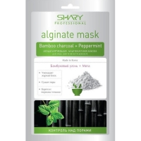 Купить Shary Professional Alginate Mask - Маска моделирующая альгинатная, Бамбуковый уголь и мята, 28 г