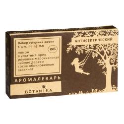 Фото Botavikos - Набор 100% эфирных масел Антисептический, 6 шт x 1,5 мл