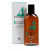 Купить Sim Sensitive System 4 Therapeutic Climbazole Shampoo 1 - Терапевтический шампунь № 1 для нормальной и жирной кожи головы 500 мл
