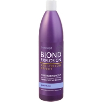 Купить Concept Silver Shampoo For Light Blond And Blonded Hair - Шампунь серебристый для светлых оттенков, 300 мл