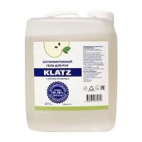Klatz - Антимикробный гель для рук с ароматом яблока, 5 л