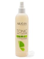 Купить Aravia Professional - Тоник для очищения и увлажнения кожи с мятой и ромашкой, 300 мл.