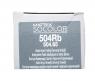 Matrix SoColor.beauty Extra Coverage - Крем-краска для волос, 504RB шатен красно-коричневый, 90 мл