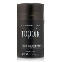 Toppik - Пудра-загуститель для волос, Черный, 12 гр  - Купить