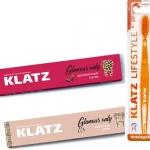 Фото Набор Зубная паста Klatz GLAMOUR ONLY  - Земляничный смузи, 75 мл + Молочный шейк, 75 мл + Зубная щетка, средняя