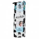 Фото MILRISH - Шампунь-уход бессиликоновый с молочными протеинами Блеск и Объем, 500 мл