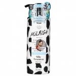 Фото MILRISH - Бальзам-кондиционер с молочными протеинами Блеск и Объем, 500 мл