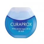 Фото Curaprox - Нить межзубная тефлоновая с хлоргексидином 35м, 1 шт
