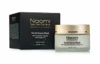Naomi - Маска для лица с эффектом сауны с морскими водорослями, витаминами и Омега-3,-6, 50 мл