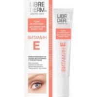 Librederm - Крем-антиоксидант для нежной кожи вокруг глаз с витамином Е, 20 мл.