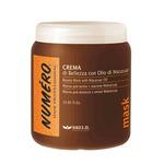 Фото Brelil Numero Beauty Mask With Macassar Oil - Маска для красоты волос с макассаровым маслом и кератином 1000ml
