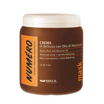 Brelil Numero Beauty Mask With Macassar Oil - Маска для красоты волос с макассаровым маслом и кератином 1000ml
