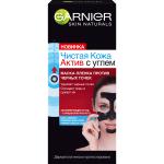 Фото Garnier - Маска-пленка для лица Чистая Кожа против черных точек, 50 мл