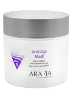 Aravia Professional Anti-Age Mask - Крем-маска омолаживающая для шеи декольте, 300 мл фото