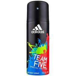 Фото Adidas Team Five - Дезодорант-спрей для мужчин, 150 мл