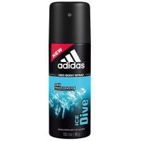 Купить Adidas Ice Dive - Дезодорант-спрей для мужчин, 150 мл