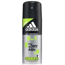 Фото Аdidas 6in1 - Дезодорант-антиперспирант спрей для мужчин, 150 мл