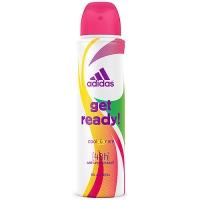 Купить Adidas Get Ready - Дезодорант-антиперспирант спрей для женщин, 150 мл