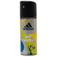 Adidas Get Ready - Дезодорант-спрей для мужчин, 150 мл