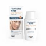 Фото Isdin Foto Ultra 100 Spot Prevent Fusion Fluid SPF 50+ - Флюид для лица солнцезащитный, 50 мл