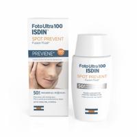 Isdin Foto Ultra 100 Spot Prevent Fusion Fluid SPF 50+ - Флюид для лица солнцезащитный, 50 мл