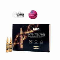 Isdin Isdinceutics Flavo-C Melatonin Serum Reparador De Noche - Сыворотка для лица ночная, 30*2 мл