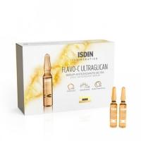Isdin Isdinceutics Flavo-C Ultraglican - Сыворотка для лица дневная, 30 шт х 2 мл