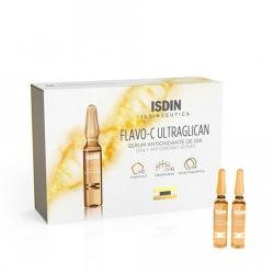 Фото Isdin Isdinceutics Flavo-C Ultraglican Serum Antioxidante De Dia - Сыворотка для лица дневная, 10*2 мл