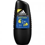 Фото Adidas Sport Energy - Дезодорант-антиперспирант ролик для мужчин, 50 мл