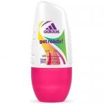 Фото Adidas Get Ready - Дезодорант- антиперспирант ролик для женщин, 50 мл
