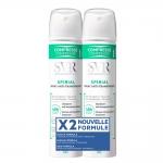 Фото SVR Spirial Spray Anti - transpirant - Спрей - антиперспирант, 2шт х 75 мл
